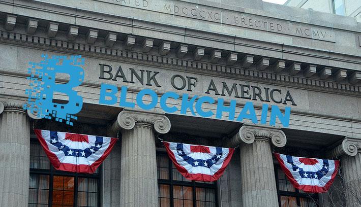 Bank of America запатентует систему обработки данных на технологии Blockchain
