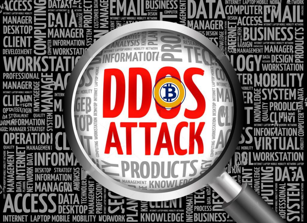 DDoS-атака на сайт команды Bitcoin Gold