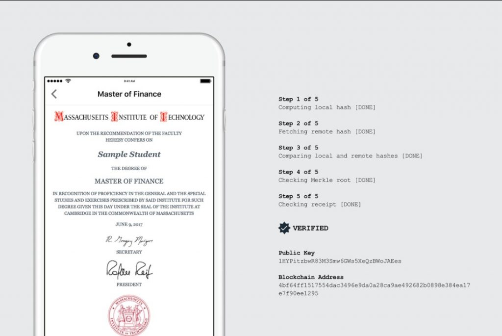 The MIT digital diploma
