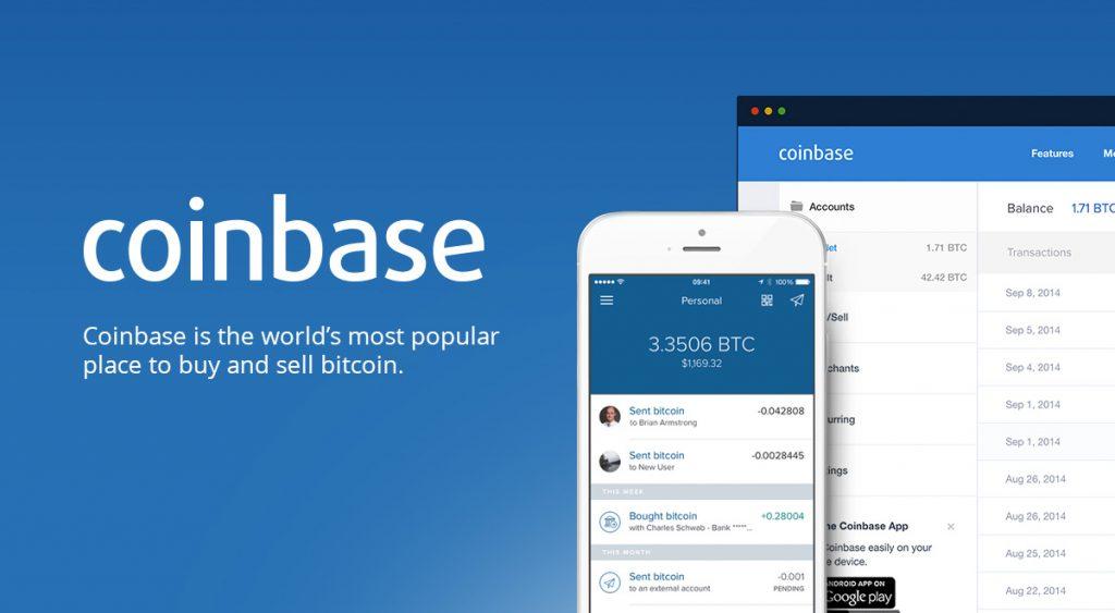 Мгновенная покупка Биикоинов от Coinbase