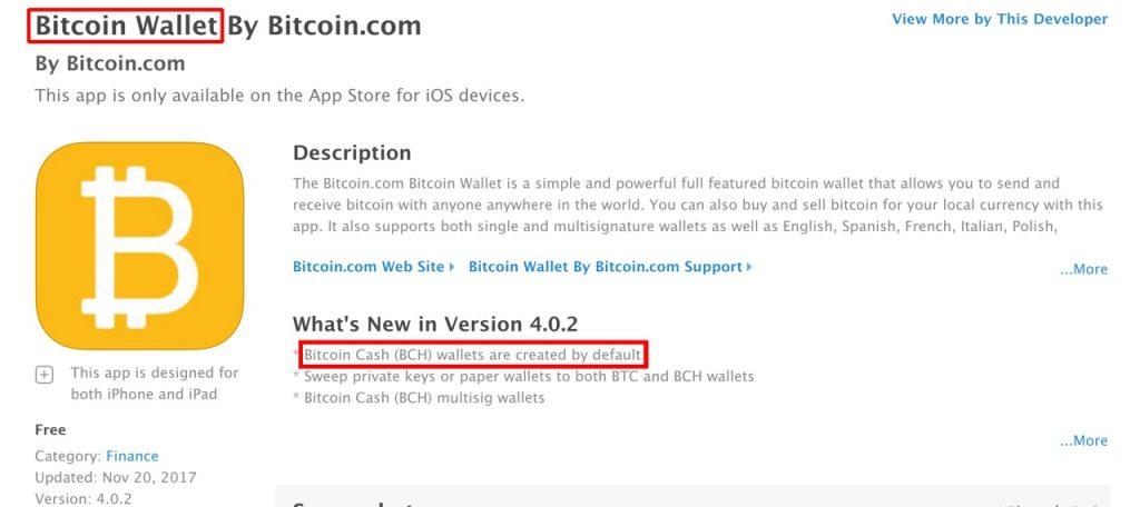 Bitcoin Wallet Bamboozle: Bitcoin.com