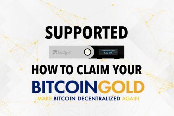 Bitcoin Gold добавили в аппаратный кошелек Ledger