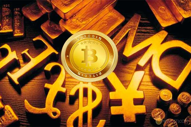 Биткоин - 6-я крупнейшая валюта в мире по типу обращения