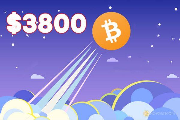 Цена Bitcoin Cash превысила отметку в $3800