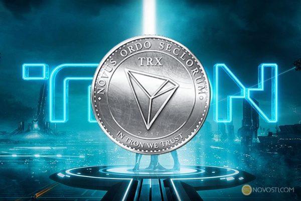 TRON переходит в топ-10 криптовалют