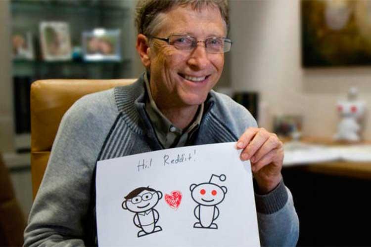Билл Гейтс критикует криптовалюты на сессииReddit