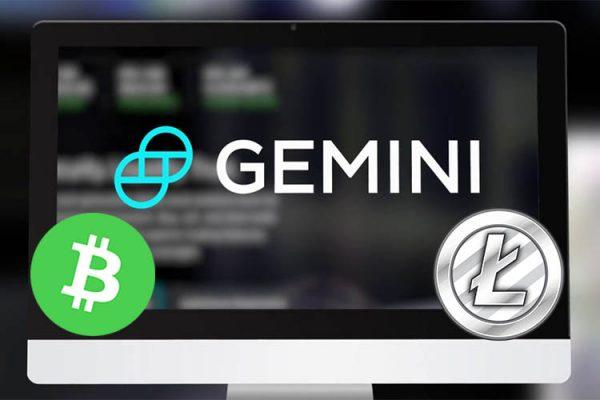 Криптовалютная биржа Gemini объявила о добавлении Bitcoin Cash и Litecoin