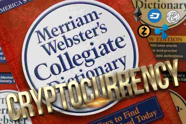 Слово «Криптовалюта» добавили в словарь Merriam-Webster