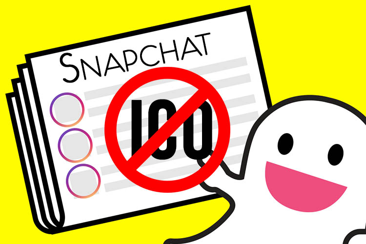 Snapchat запретил рекламу ICO вслед за Facebook и Google
