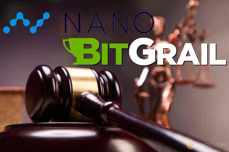 Криптовалюту Nano обвиняют в привлечении инвесторов к обмену криптовалютами BitGrail в целях мошеннической деятельности