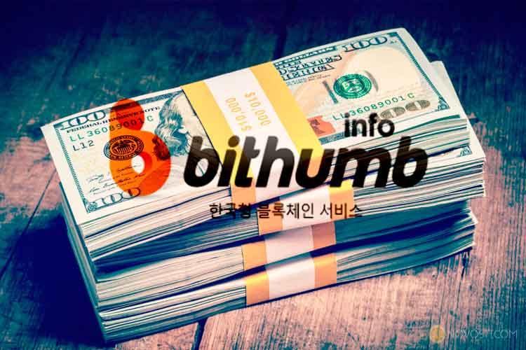 Bithumb, крупнейший обмен криптовалюты в Южной Корее, в 2017 году увеличил свой доход в 171 раз