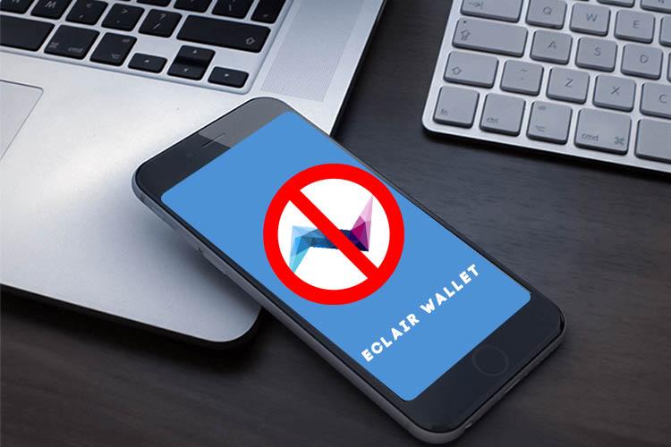 Разработчики крипто-кошелька Eclair советует не пользоваться своим приложением