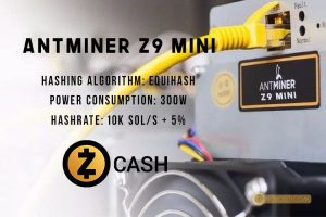 Bitmain анонсировала Antminer Z9 — ASIC для майнинга Zcash